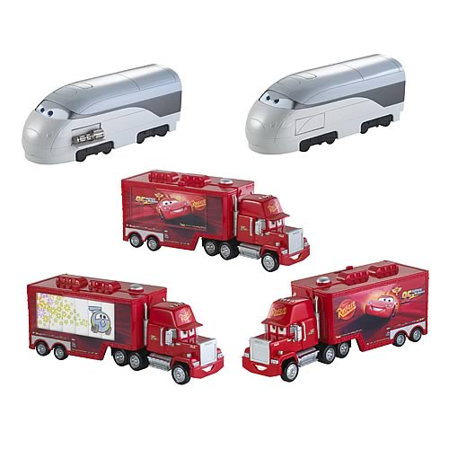 Cars 2 Vehicle Race Transporter Case