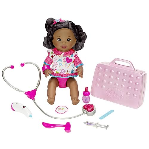 Little Mommy Doctor Mommy African American Doll