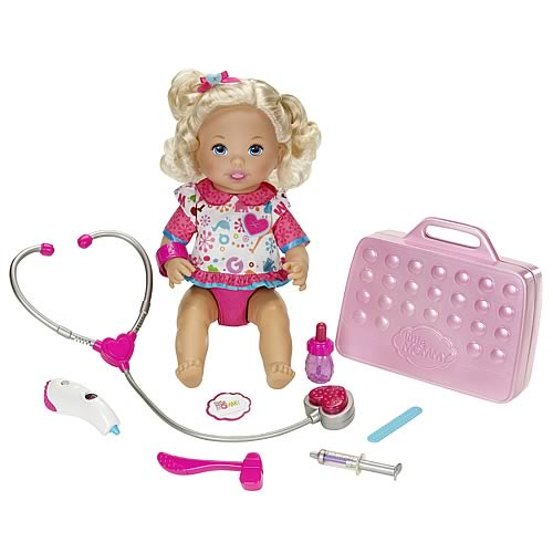 Little Mommy Doctor Mommy Caucasian Doll