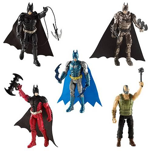 Batman Dark Knight Rises Action Figure Case