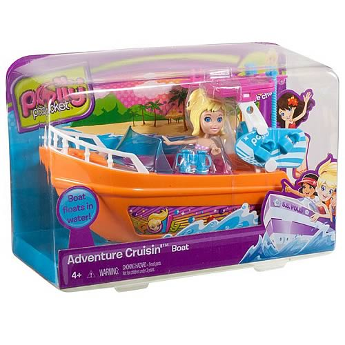 Polly Pocket Adventure Cruisin' Boat Vehicle