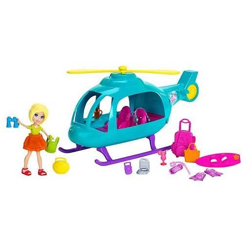 Polly Pocket Helicopter Vehicle
