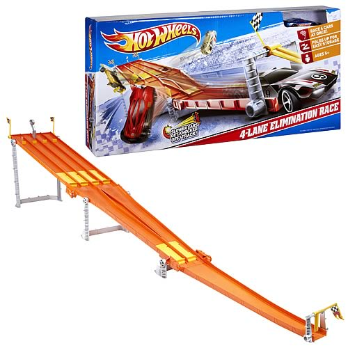 Hot Wheels 4 Lane Elimination Playset