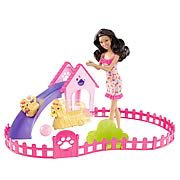 Barbie Puppy Play Park Nikki Doll and Playset