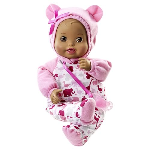 Little Mommy Bedtime Baby African American Doll