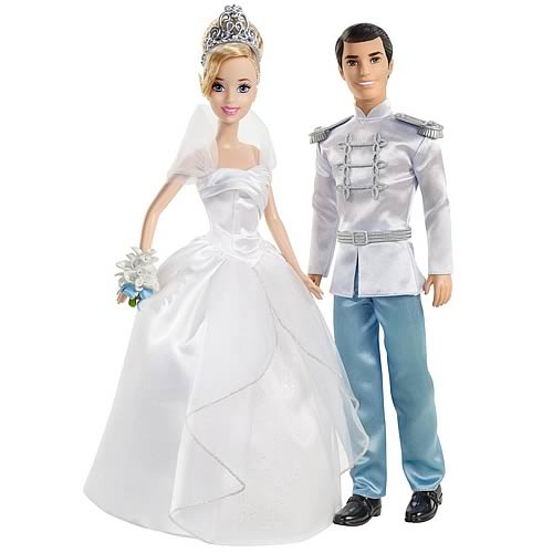 Disney Princess Cinderella Fairytale Wedding Dolls Set