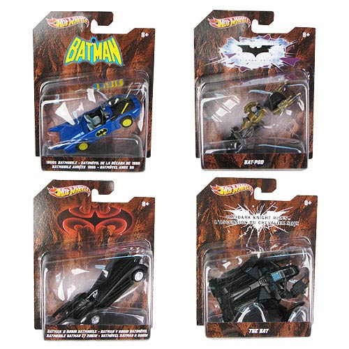Batman Hot Wheels 1:50 Vehicles Wave 3 Set