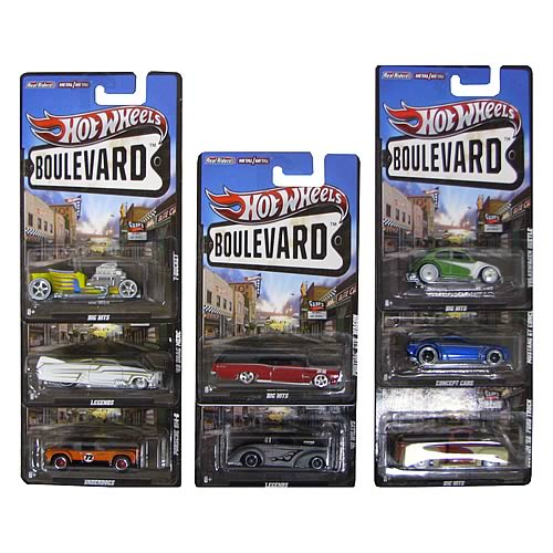 Hot Wheels Boulevard Vehicles Wave 3 Case
