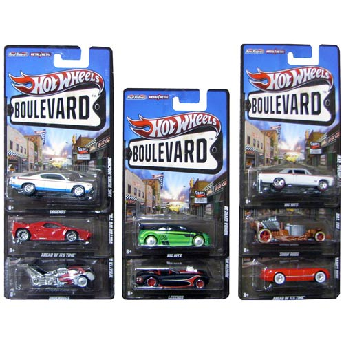 Hot Wheels Boulevard Vehicles Wave 4 Case