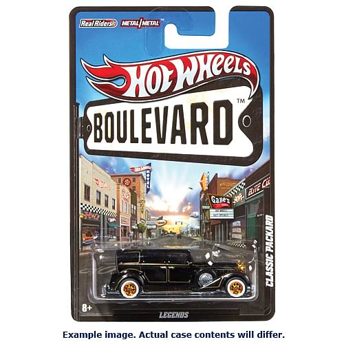 Hot Wheels Boulevard Vehicles Wave 7 Case