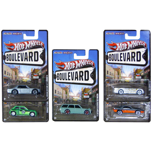 Hot Wheels Boulevard Vehicles Wave 6 Case
