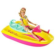 Barbie Sisters Wave Ride with Stacie Doll