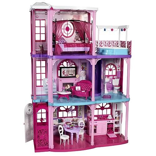 Barbie Dollhouse Dream Townhouse Playset