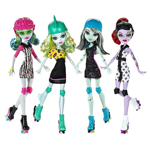Monster High Roller Maze Doll Wave 1 Case