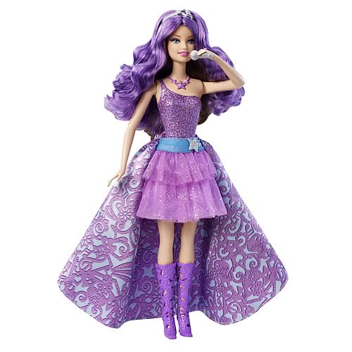 Barbie Princess and the Popstar Keira 2 in 1 Doll