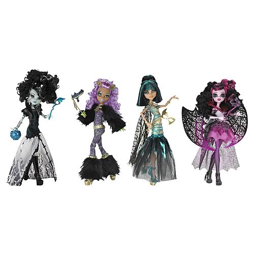 Monster High Ghouls Rule Costume Doll Case