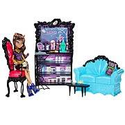 Monster High Coffin Bean and Clawdeen Wolf Playset