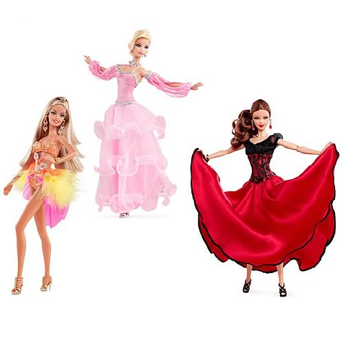 Barbie dancing with the stars dolls case mattel barbie dolls at