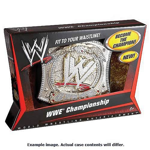 WWE Championship Title Belt Wave 4 Case