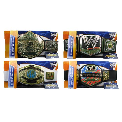 WWE Championship Title Belt Wave 9 Case