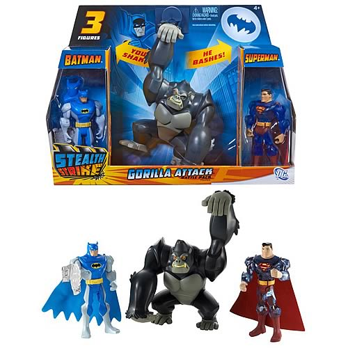 Batman Brave & Bold Stealth Gorilla Attack Battle Pack
