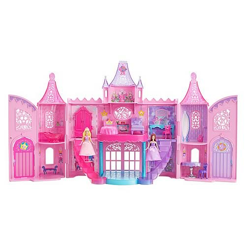 Barbie Princess and the Popstar Castle Dollhouse Playset