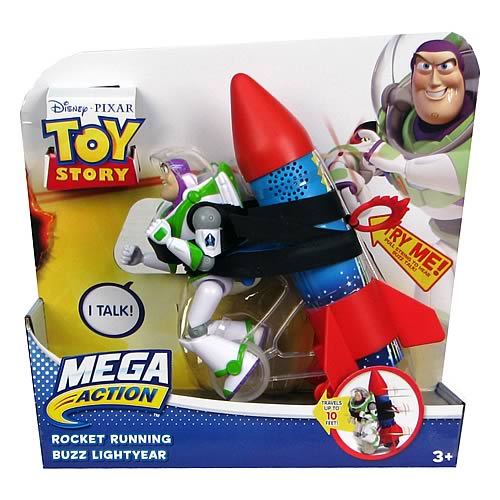 Toy Story Mega Action Buzz Lightyear Figure Case