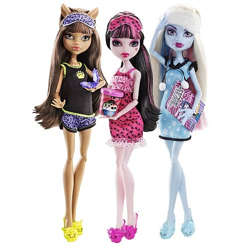 Monster High Dead Tired Dolls Wave 1 Case