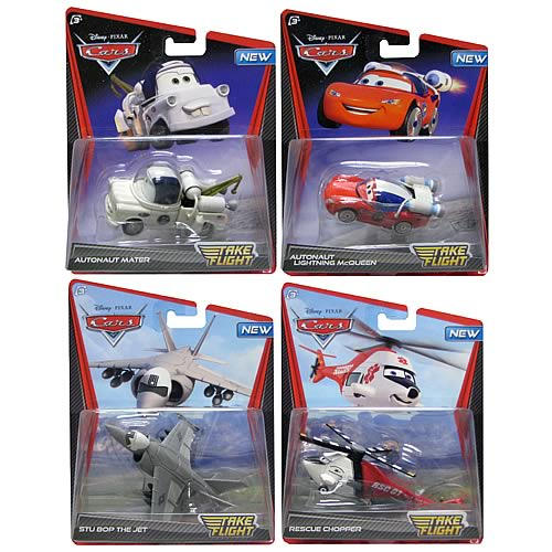 Cars 2 Take Flight Die-Cast Vehicles Wave 1 Case