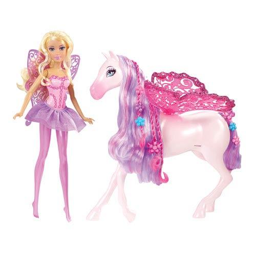 Barbie Fairytale Fairy & Pegasus Toys