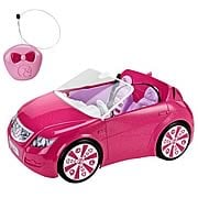 Barbie Remote Control Convertible Car Vehicle