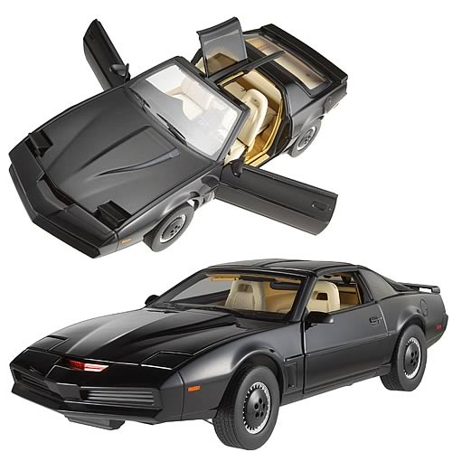 Knight Rider KITT Hot Wheels Elite 1:18 Scale Vehicle