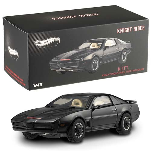 Knight Rider KITT Hot Wheels Elite 1:43 Scale Vehicle