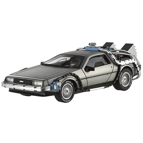 Back to the Future DeLorean Hot Wheels 1:43 Scale Vehicle
