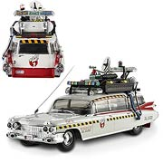 Ghostbusters 2 Ecto-1A Hot Wheels Elite 1:43 Scale Vehicle