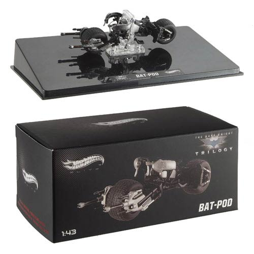 Dark Knight Rises BatPod Hot Wheels Elite 1:43 Scale Vehicle
