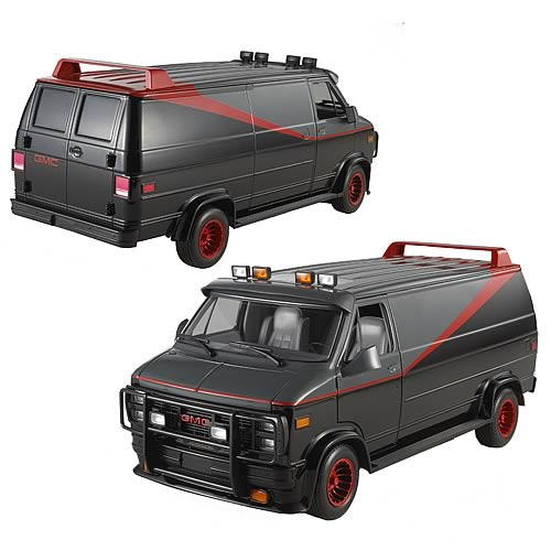 a team classic van hot wheels heritage 1 18 scale vehicle. Black Bedroom Furniture Sets. Home Design Ideas