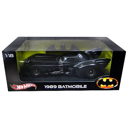 Batman 1989 Batmobile Hot Wheels Heritage 1:18 Vehicle