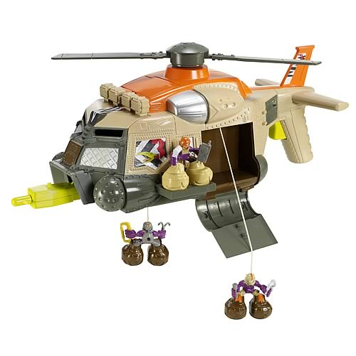 Matchbox Big Boots Chopper Helicopter
