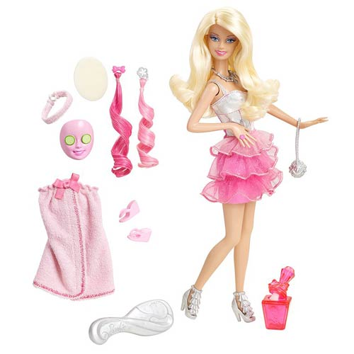Barbie Spa To Fab Fashion Doll