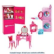 Barbie Glam Furniture Playset Case