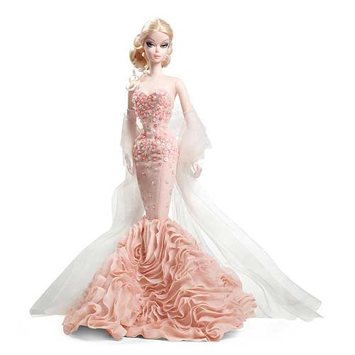 Barbie Fashion Model Collection 3 Mermaid Gown Doll