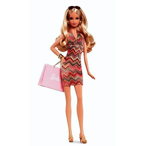 The Barbie Look City Shopper Caucasian Doll