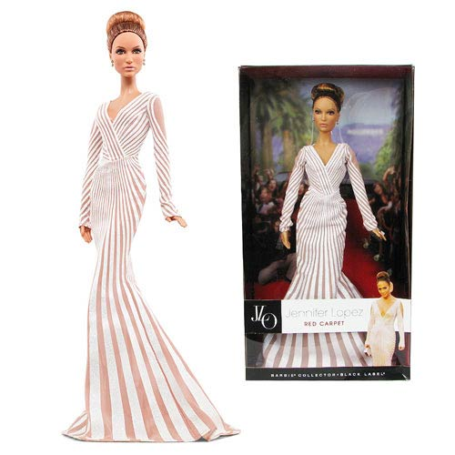 Jennifer Lopez Barbie Red Carpet Doll