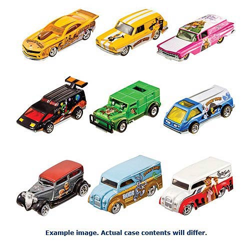 Hot Wheels Pop Culture Wave 4 Vehicles Revision 1 Case