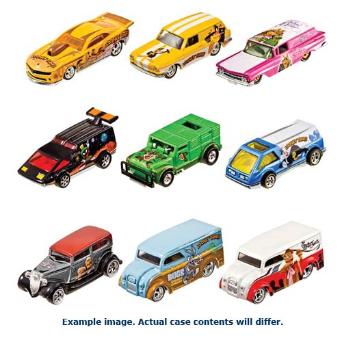 Hot Wheels Pop Culture Wave 5 Vehicles Case