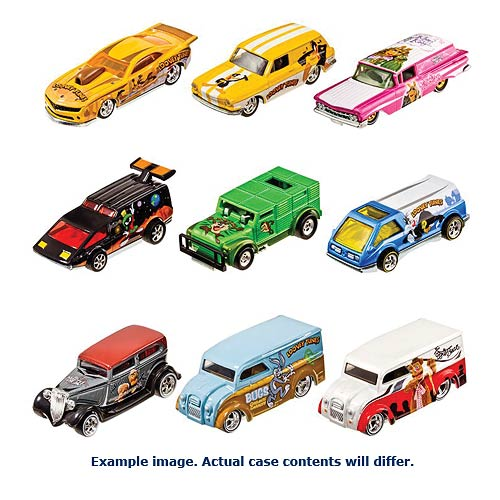 Hot Wheels Pop Culture Wave 6 Vehicles Case