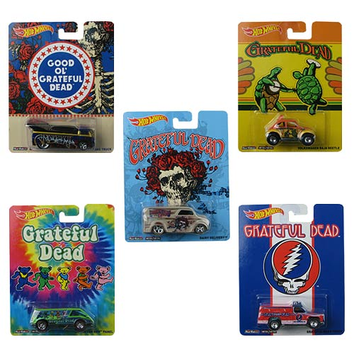 Hot Wheels Pop Culture Wave 7 Vehicles Case