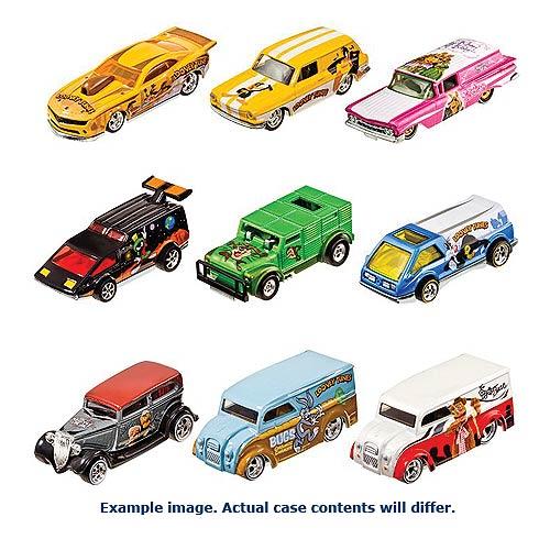 Hot Wheels Pop Culture Wave 9 Vehicles Case
