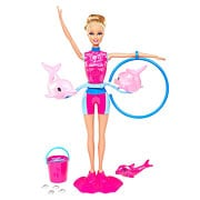 Barbie I Can Be a Dolphin Trainer Caucasian Doll Set